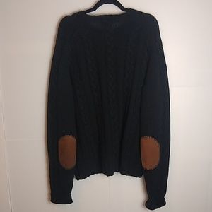 Polo by Ralph Lauren wool elbow patch sweater